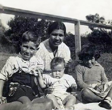 Aunty Val and Family